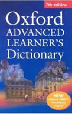 OXFORD ADVANCED LEARNERS DICTIONARY(CD1장포함)(7TH EDITION)