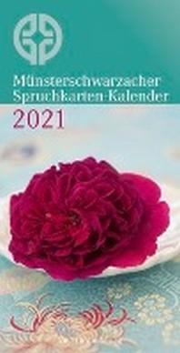 [해외]Muensterschwarzacher Spruchkarten-Kalender 2021