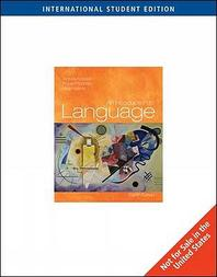 Introduction to Language 8/E