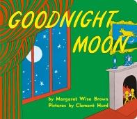 Goodnight Moon 겉표지에 비닐커버 씌워져 있음 / 비닐커버 상태 낡음