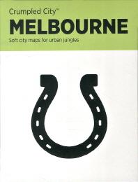 멜버른(Melbourne)(구겨쓰는 도시 지도)
