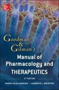 [해외]Goodman and Gilman's Manual of Pharmacology and Therapeutics