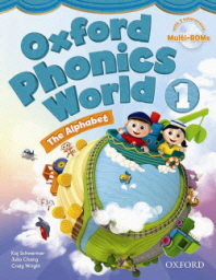 Oxford Phonics World 1 : Student Book (with Multi-Rom 2CD)