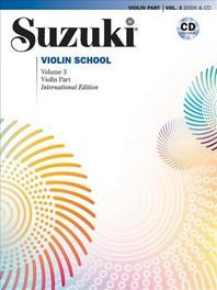 [해외]Suzuki Violin School, Volume 3 (Paperback)