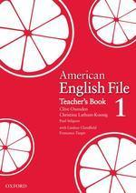 American English File 1 : Teacher's Book