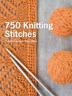 [해외]750 Knitting Stitches