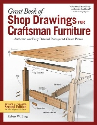 [해외]Great Book of Shop Drawings for Craftsman Furniture, Revised & Expanded Second Edition