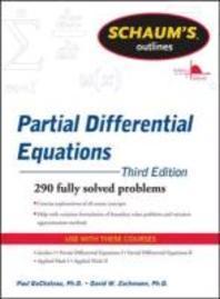[해외]Schaum's Outline of Partial Differential Equations