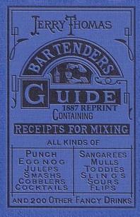 [해외]Jerry Thomas Bartenders Guide 1887 Reprint (Paperback)