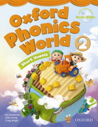 Oxford Phonics World 2 : Student Book (with Multi-Rom 2CD) #