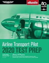 [해외]Airline Transport Pilot Test Prep 2020 (Paperback)