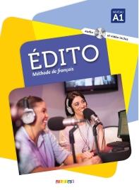 Edito niv. A1 - Livre + CD mp3 + DVD (French Edition)