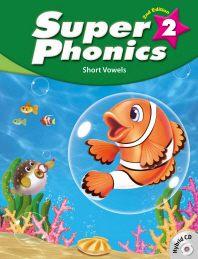 Super Phonics(슈퍼 파닉스). 2(SB)(2판)(CD2장포함)