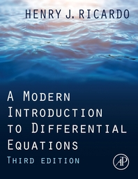 A Modern Introduction to Differential Equations