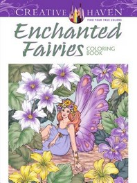 [해외]Creative Haven Enchanted Fairies Coloring Book