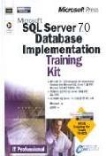 SQL SERVER 7.0 DATABASE IMPLEMENTATION TRAINING KIT(70-029)(S/W포함)