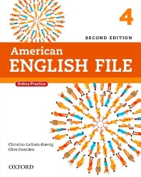American English File  4 SB with Online Practice