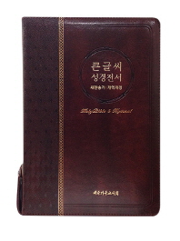 큰글씨 성경전서(개역개정)(새찬송가)(NKR73EBU)(대)(브라운)