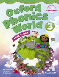 Oxford Phonics World 3 :  Student Book (with Multi-Rom 2CD)