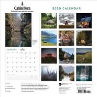 Cabin Porn 2020 Wall Calendar