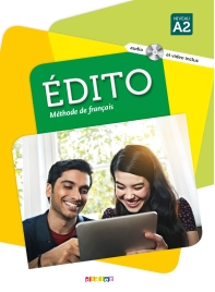 Edito niv. A2 - Livre + CD mp3 + DVD