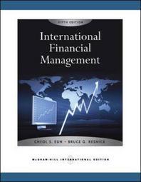 International Financial Management, 5/E