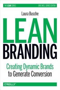 [해외]Lean Branding (Paperback)