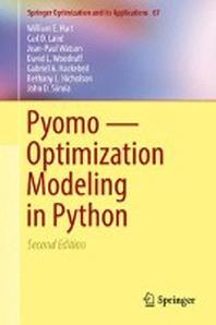 [해외]Pyomo -- Optimization Modeling in Python