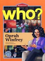 OPRAH WINFREY(오프라 윈프리)(영문판)(WHO)(CD2장포함)(BIOGRAPHY COMIC 6)