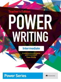 Power Writing(Intermediate)(Teacher s Edition)(파워 라이팅 인터미디에이츠)(Power Series)