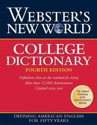 Webster's New World College Dictionary, 4/e with CD