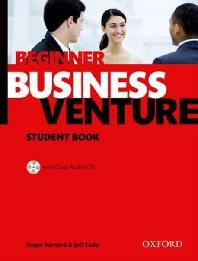 BUSINESS VENTURE(BEGINNER)(STUDENT BOOK)(CD1장포함)