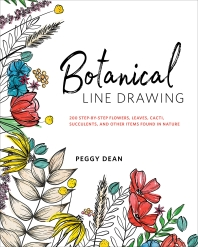 [해외]Botanical Line Drawing