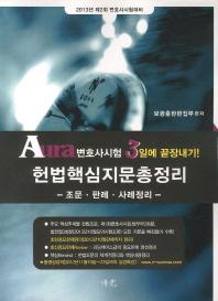 헌법핵심지문총정리(조문 판례 사례정리)(2013)
