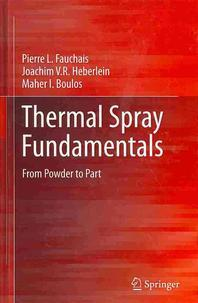 [해외]Thermal Spray Fundamentals