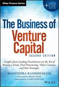 [해외]The Business of Venture Capital