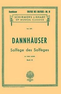 [해외]Solfege Des Solfeges - Book III (Paperback)