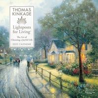 [해외]Thomas Kinkade Lightposts for Living 2022 Wall Calendar