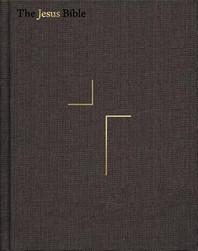 The Jesus Bible, ESV Edition, Cloth Over Board, Grey