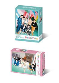 BTS 다이너마이트 직소퍼즐 1000피스 민트&핑크 (인터넷전용상품)