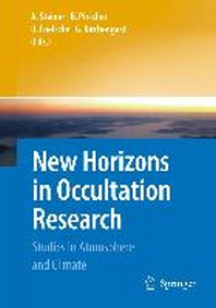 New Horizons in Occultation Research: Studies in Atmosphere and Climate