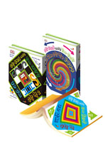 수학 두뇌를 깨우는 3D 입체 수학 책 (전3권)