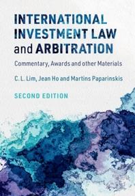 [해외]International Investment Law and Arbitration