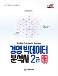 경영 빅데이터 분석사 2급 단기완성(2019)(시대에듀)(개정판)