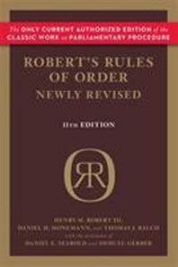 [해외]Robert's Rules of Order