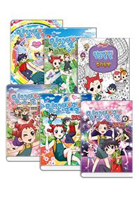 밍꼬발랄 코믹스 1~5권 + 컬러링북 세트(전 6권)