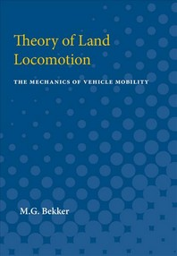 [해외]Theory of Land Locomotion