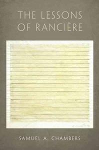 [해외]Lessons of Ranciere (Hardcover)