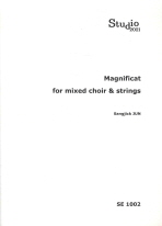 MAGNIFICAT FOR MIXED CHOIR STRINGS(SE 1002)
