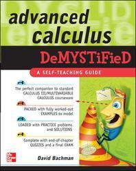 [해외]Advanced Calculus Demystified